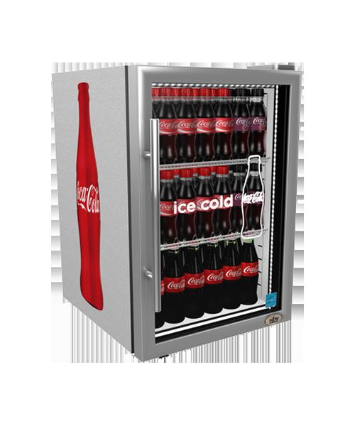 Coca cola display coolers refrigerators idw gs 25 countertop cooler w external handle planetlyrics Choice Image